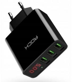 """3x USB pakrovėjas 3A """"ROCK T14"""""""