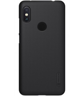 "Juodas dėklas Xiaomi Redmi Note 6 Pro telefonui ""Nillkin Frosted Shield"""