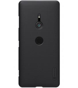 "Juodas dėklas Sony Xperia XZ3 telefonui ""Nillkin Frosted Shield"""