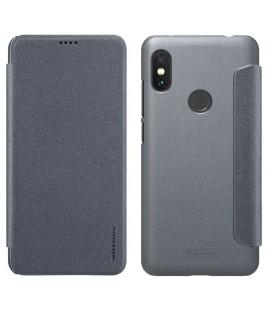 """Juodas dėklas Huawei Y6 Prime 2018 telefonui """"Spigen Rugged Armor"""""""