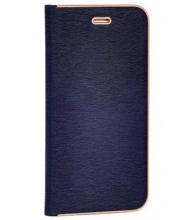 """Mėlynas atverčiamas dėklas su rėmeliu Huawei Mate 20 Pro telefonui """"Book Vennus Z"""""""