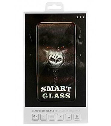 """Juodas apsauginis grūdintas stiklas Apple iPhone 7 Plus / 8 Plus telefonui """"Smart Glass"""""""