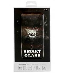 """Juodas apsauginis grūdintas stiklas Samsung Galaxy A6 Plus 2018 telefonui """"Smart Glass"""""""