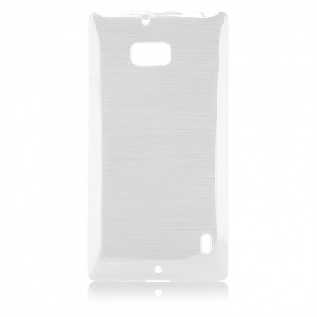 "Baltas dėklas Nokia Lumia 930 telefonui ""Jelly Metallic"""