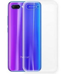 Skaidrus plonas 0,3mm silikoninis dėklas Huawei Honor 10 telefonui