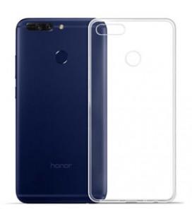 Skaidrus plonas 0,3mm silikoninis dėklas Huawei Honor 7X telefonui