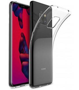 Skaidrus plonas 0,3mm silikoninis dėklas Huawei Mate 20 Pro telefonui
