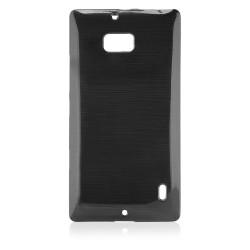 """Juodas dėklas Nokia Lumia 930 telefonui """"Jelly Metallic"""""""