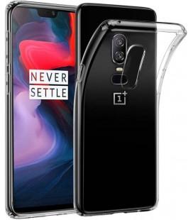"Skaidrus silikoninis dėklas Oneplus 6T telefonui ""Clear"""