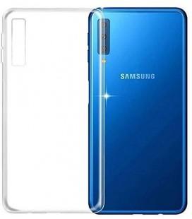 """Skaidrus silikoninis dėklas Samsung Galaxy A7 2018 telefonui """"Clear"""""""