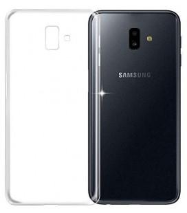 """Skaidrus silikoninis dėklas Samsung Galaxy J6 Plus 2018 telefonui """"Clear"""""""