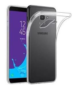 """Skaidrus silikoninis dėklas Samsung Galaxy J6 2018 telefonui """"Clear"""""""