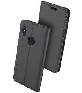 """Pilkas atverčiamas dėklas Xiaomi Mi 6X (Mi A2) telefonui """"Dux Ducis Skin"""""""
