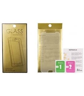 """Apsauginis grūdintas stiklas Samsung Galaxy A7 2018 telefonui """"GOLD"""""""