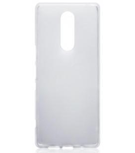 Skaidrus plonas 0,3mm silikoninis dėklas Sony Xperia 1 telefonui