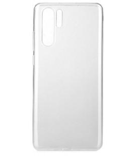 Skaidrus plonas 0,3mm silikoninis dėklas Huawei P30 Pro telefonui
