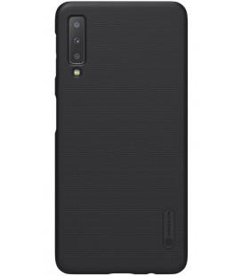 "Juodas dėklas Samsung Galaxy A7 2018 telefonui ""Nillkin Frosted Shield"""