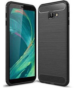 """Juodas dėklas Samsung Galaxy J4 Plus 2018 telefonui """"Tech-Protect"""""""