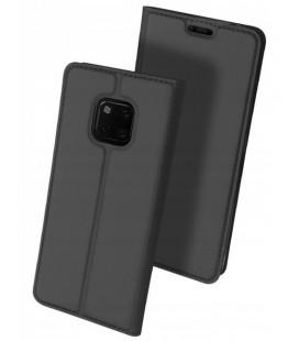 """Pilkas atverčiamas dėklas Huawei Mate 20 Pro telefonui """"Dux Ducis Skin"""""""