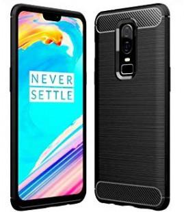 """Juodas dėklas Oneplus 6T telefonui """"Tech-Protect"""""""