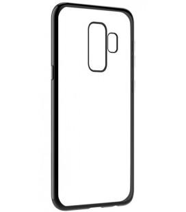 """Juodas silikoninis dėklas Samsung Galaxy S9 Plus telefonui """"Glossy"""""""