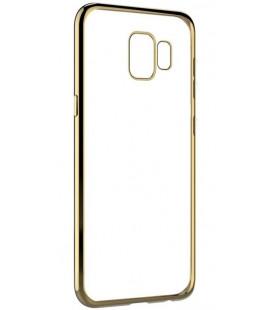 """Auksinės spalvos silikoninis dėklas Samsung Galaxy S9 telefonui """"Glossy"""""""