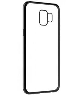 """Juodas silikoninis dėklas Samsung Galaxy S9 telefonui """"Glossy"""""""