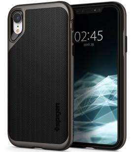 "Pilkas dėklas Apple iPhone XR telefonui ""Spigen Neo Hybrid"""