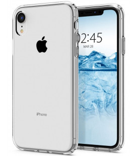 "Skaidrus dėklas Apple iPhone XR telefonui ""Spigen Liquid Crystal"""
