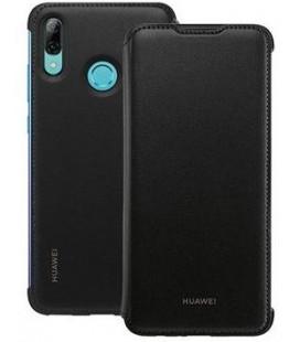 """Originalus juodas atverčiamas dėklas Huawei P Smart 2019 telefonui """"Wallet Cover"""""""