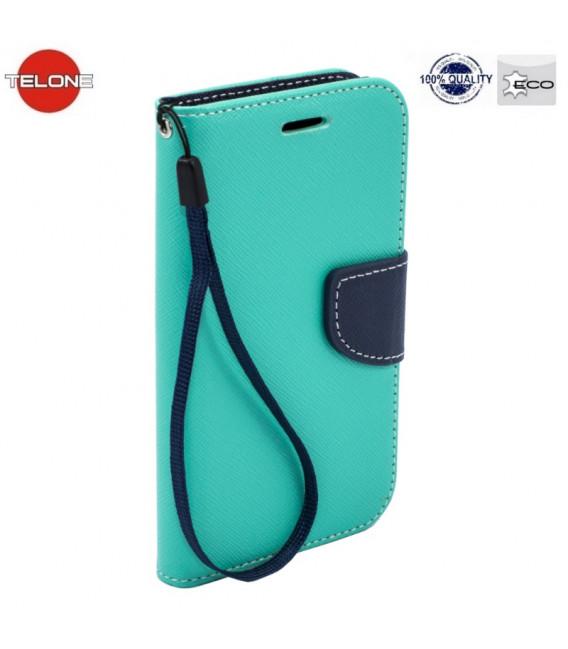"""Mėtos spalvos atverčiamas dėklas Samsung Galaxy S10 Lite telefonui """"Telone Fancy"""""""