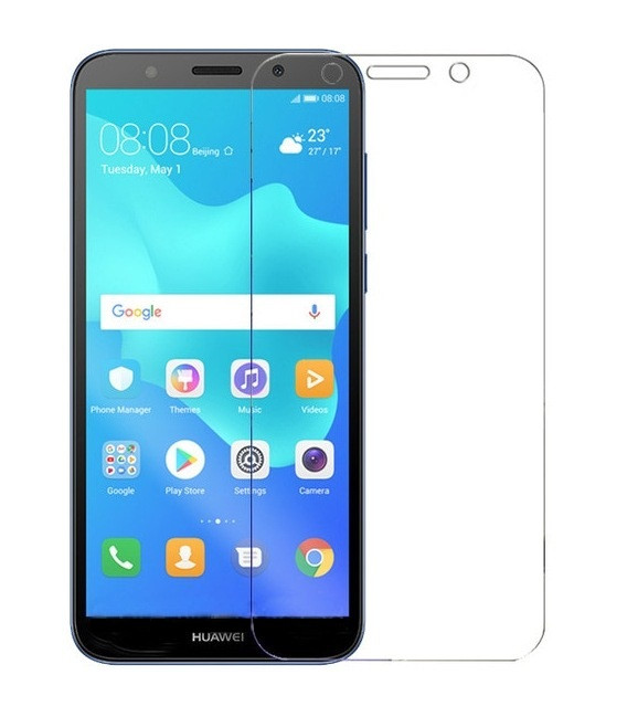 Apsauginė ekrano plėvelė Huawei Y5 2018 telefonui (Visam ekranui)