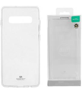 """Skaidrus silikoninis dėklas Samsung Galaxy S10 telefonui """"Mercury Goospery Pearl Jelly Case"""""""