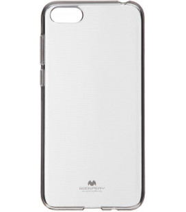 """Skaidrus silikoninis dėklas Huawei Y5 2018 telefonui """"Mercury Goospery Pearl Jelly Case"""""""