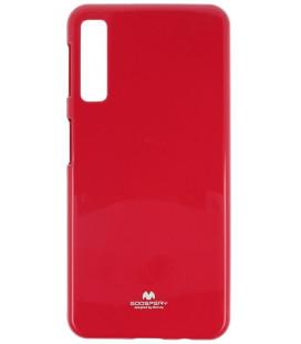 """Rožinis silikoninis dėklas Samsung Galaxy A7 2018 telefonui """"Mercury Goospery Pearl Jelly Case"""""""