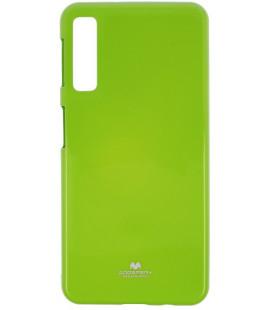 """Žalias silikoninis dėklas Samsung Galaxy A7 2018 telefonui """"Mercury Goospery Pearl Jelly Case"""""""