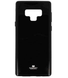"""Juodas silikoninis dėklas Samsung Galaxy Note 9 telefonui """"Mercury Goospery Pearl Jelly Case"""""""