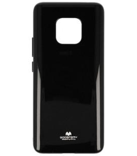 """Juodas silikoninis dėklas Huawei Mate 20 Pro telefonui """"Mercury Goospery Pearl Jelly Case"""""""