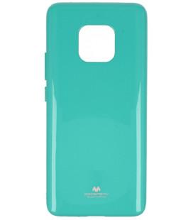 """Mėtos spalvos silikoninis dėklas Huawei Mate 20 Pro telefonui """"Mercury Goospery Pearl Jelly Case"""""""