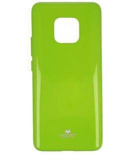 """Žalias silikoninis dėklas Huawei Mate 20 Pro telefonui """"Mercury Goospery Pearl Jelly Case"""""""
