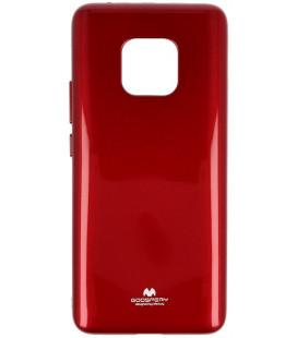 """Raudonas silikoninis dėklas Huawei Mate 20 Pro telefonui """"Mercury Goospery Pearl Jelly Case"""""""