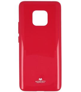 """Rožinis silikoninis dėklas Huawei Mate 20 Pro telefonui """"Mercury Goospery Pearl Jelly Case"""""""