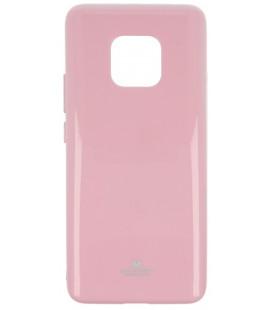 """Šviesiai rožinis silikoninis dėklas Huawei Mate 20 Pro telefonui """"Mercury Goospery Pearl Jelly Case"""""""