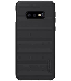 "Juodas dėklas Samsung Galaxy S10E telefonui ""Nillkin Frosted Shield"""