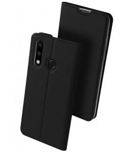 """Juodas atverčiamas dėklas Huawei P30 Lite telefonui """"Dux Ducis Skin"""""""