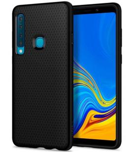 "Juodas dėklas Samsung Galaxy A9 2018 telefonui ""Spigen Liquid Air"""