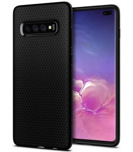 """Juodas dėklas Samsung Galaxy S10 Plus telefonui """"Spigen Liquid Air"""""""