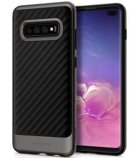 """Pilkas dėklas Samsung Galaxy S10 Plus telefonui """"Spigen Neo Hybrid"""""""