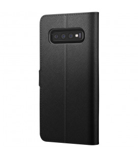"""Juodas atverčiamas dėklas Xiaomi Redmi 6 telefonui """"Smart Book Magnet"""""""