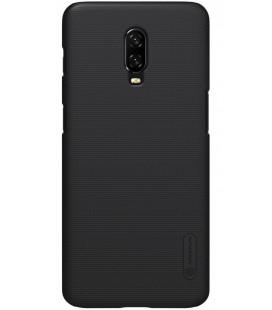 """Juodas dėklas Oneplus 6T telefonui """"Nillkin Frosted Shield"""""""